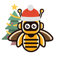 Bee Bot XMas