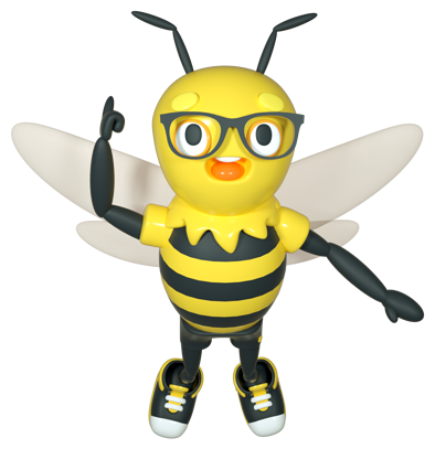 Buzzy - Pointing Up-1