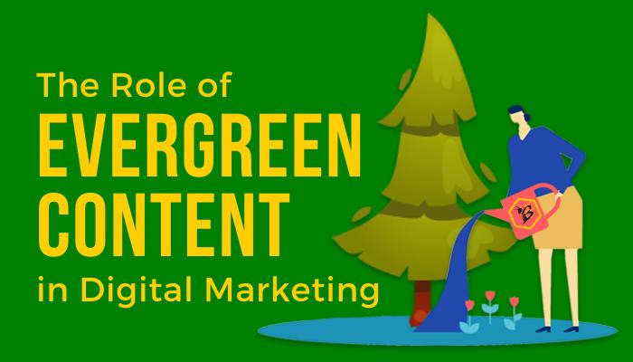 Evergreen Content Blog Header