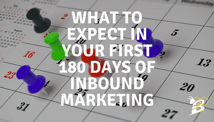 What to Expect in Your First 180 Days of Inbound Marketing