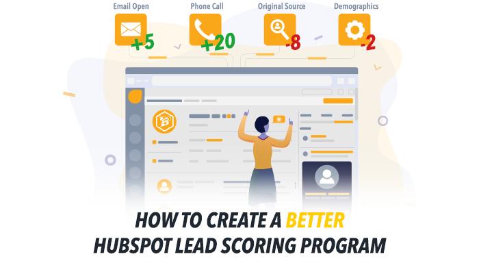 How to Create a Better HubSpot Lead Scoring Program