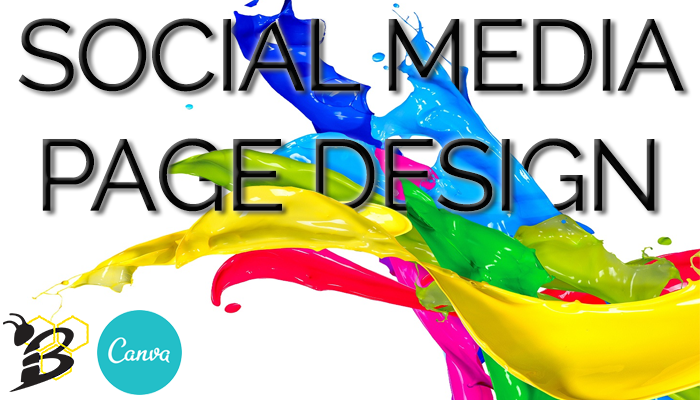 Social Media Page Design by HIVE Digital Strategy & Canva