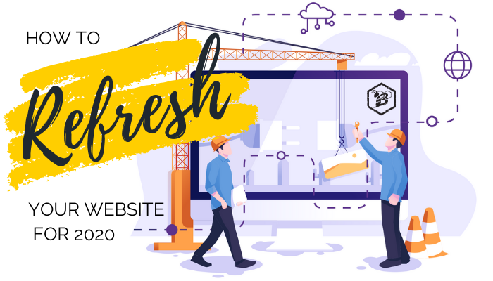 how to refresh your website